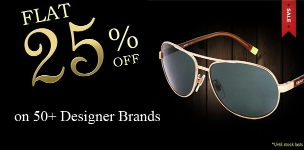 Sale on designer sunglasses