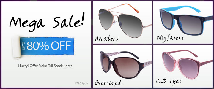 Mega Sale Eyewear Offer