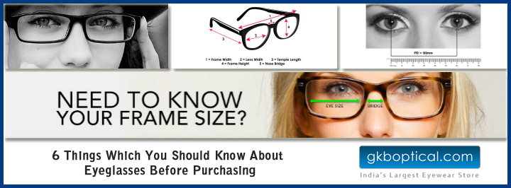 Things you should know about eyeglass purchase