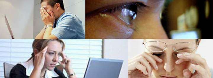 thesis on computer vision syndrome Purpose: : computer vision syndrome (cvs) is the combination of eye and  vision problems associated with the use of computers dry eye may be a primary .