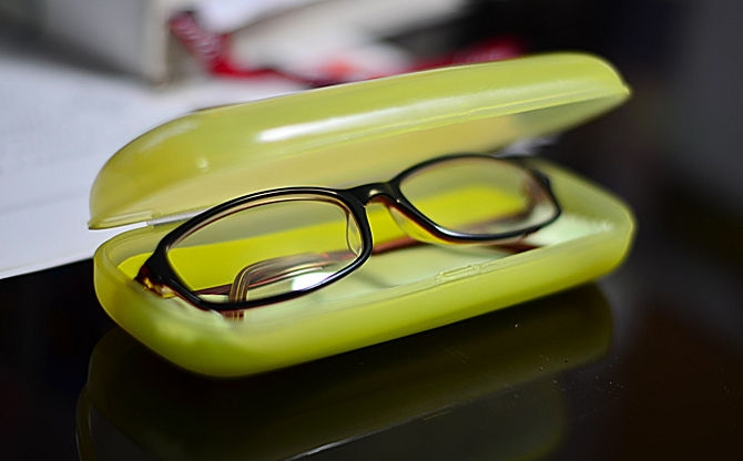 Proper Storage of your spectacles