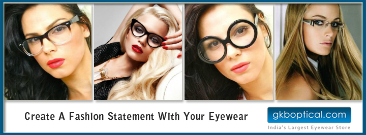 Fashion statement with your eyewear