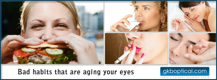 bad habits that are aging your eyes