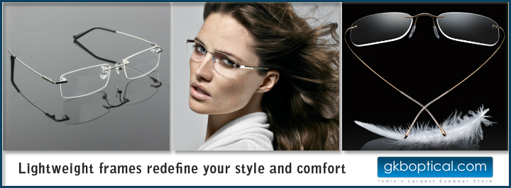 Lightweight eyeframes for men and women