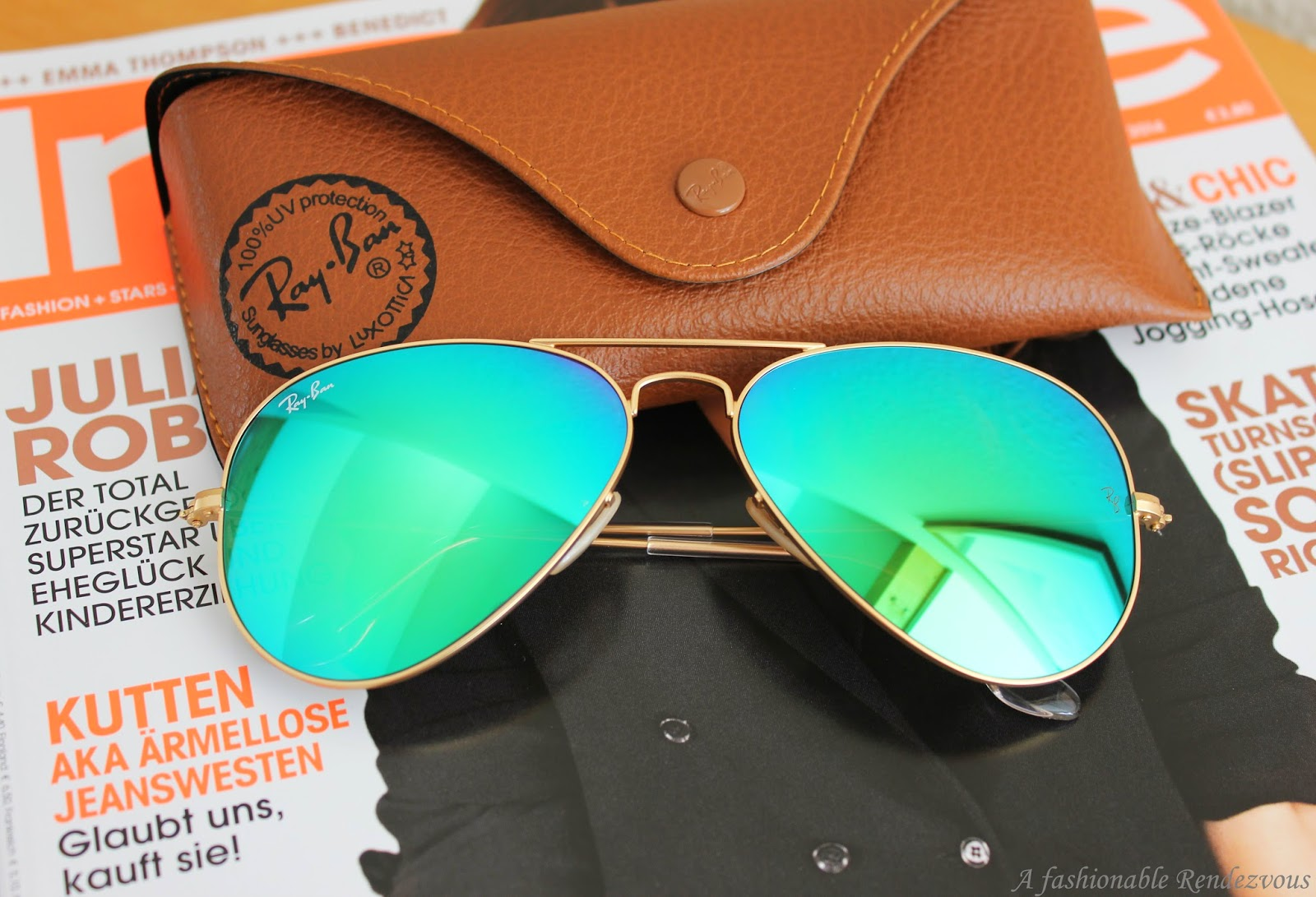 Ray Ban Aviator Flash Mirror Lenses (2)