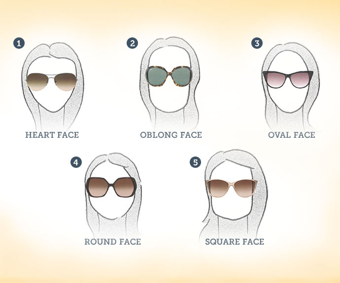 2. glasses that match face shape
